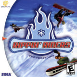 Rippin' Riders Snowboarding Sega Dreamcast Game Off the Charts