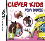 Clever Kids Pony World Nintendo DS Game Off the Charts