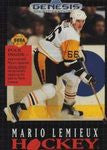 Mario Lemieux Hockey Sega Genesis Game Off the Charts