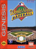 World Series Baseball Sega Genesis Game Off the Charts