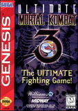 Ultimate Mortal Kombat 3 Sega Genesis Game Off the Charts