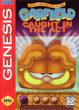 Garfield Caught in the Act Sega Genesis Game Off the Charts