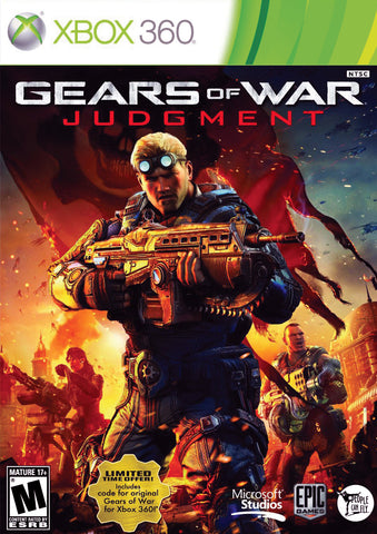 Gears of War Judgement Xbox 360 Game Off the Charts