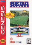 College Football's National Championship II Sega Genesis Game Off the Charts