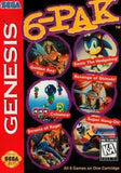 6-Pak Sega Genesis Game Off the Charts