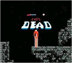 Evil Dead *REPRODUCTION* - Off the Charts Video Games