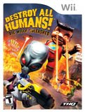Destroy All Humans: Big Willy Unleashed Wii Game Off the Charts