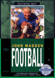 John Madden Football Sega Genesis Game Off the Charts