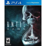 Until Dawn Playstation 4 Game Off the Charts