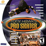 Tony Hawk's Pro Skater Sega Dreamcast Game Off the Charts