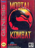 Mortal Kombat Sega Genesis Game Off the Charts