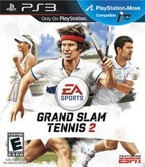 Grand Slam Tennis 2 Playstation 3 Game Off the Charts