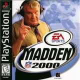 Madden 2000 Playstation Game Off the Charts