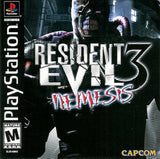 Resident Evil 3: Nemesis Playstation Game Off the Charts