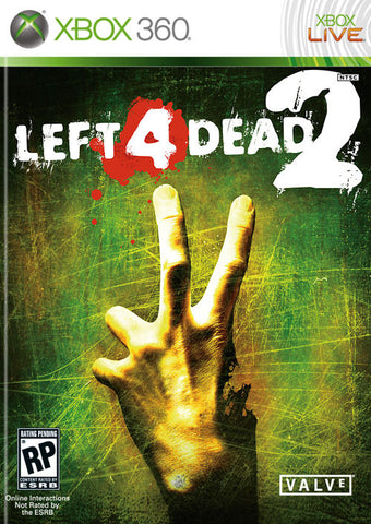 Left 4 Dead 2 Xbox 360 Game Off the Charts