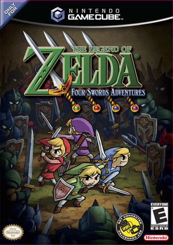 The Legend of Zelda: Four Swords Adventures - Complete Nintendo Gamecube Game Off the Charts