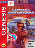 Lethal Enforcers Sega Genesis Game Off the Charts