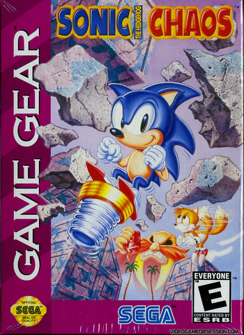 Sonic the Hedgehog Chaos Game Gear Game Off the Charts