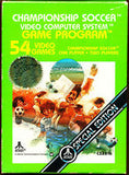 Championship Soccer Atari 2600 Game Off the Charts