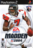 Madden 2004 Playstation 2 Game Off the Charts