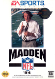 Madden '94 Sega Genesis Game Off the Charts