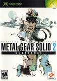 Metal Gear Solid 2: Substance Xbox Game Off the Charts
