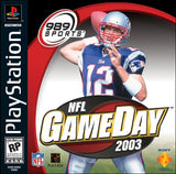NFL Game Day 2003 Playstation Game Off the Charts