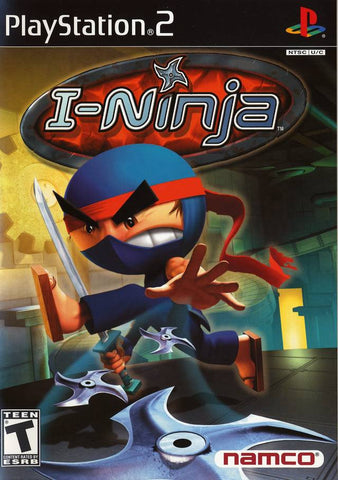 I-Ninja Playstation 2 Game Off the Charts