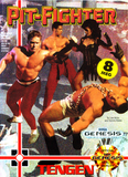 Pit Fighter Sega Genesis Game Off the Charts