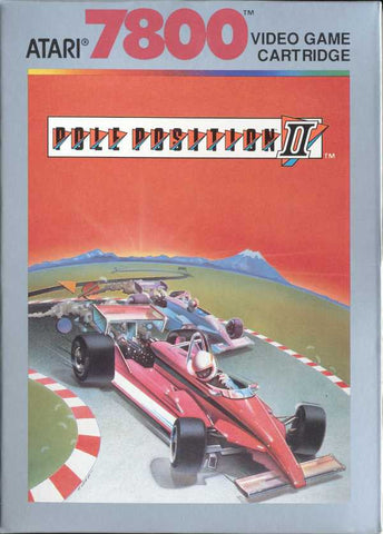 Pole Position II Atari 7800 Game Off the Charts
