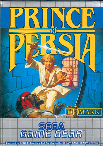 Prince of Persia Game Gear Game Off the Charts