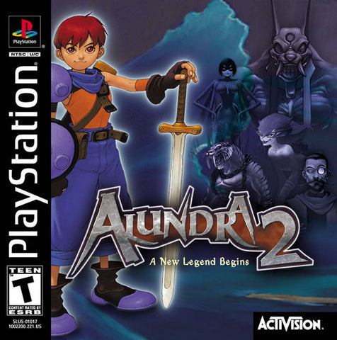 Alundra 2 Playstation Game Off the Charts
