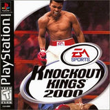 Knockout Kings 2000 Playstation Game Off the Charts