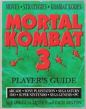 Mortal Kombat 3 Player's Guide - Off the Charts Video Games