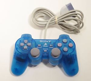 Island Blue PSOne DualShock Controller Playstation Accessory Off the Charts
