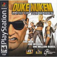 Duke Nukem Land of the Babes Playstation Game Off the Charts