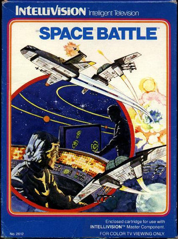 Space Battle Intellivision Game Off the Charts