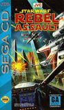 Star Wars Rebel Assault Sega CD Game Off the Charts