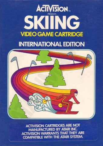 Skiing Atari 2600 Game Off the Charts