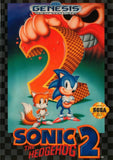 Sonic the Hedgehog 2 Sega Genesis Game Off the Charts