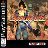 Soul Blade Playstation Game Off the Charts