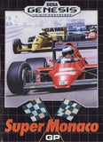 Super Monaco GP Sega Genesis Game Off the Charts