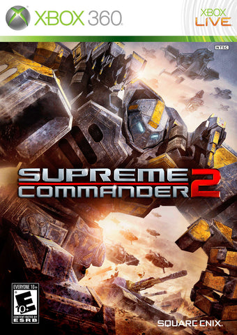 Supreme Commander 2 Xbox 360 Game Off the Charts