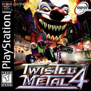 Twisted Metal 4 Playstation Game Off the Charts