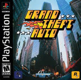 Grand Theft Auto Playstation Game Off the Charts
