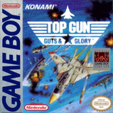 Top Gun Guts & Glory Game Boy Game Off the Charts