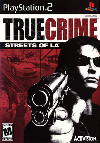 True Crime Streets of LA Playstation 2 Game Off the Charts