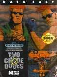 Two Crude Dudes Sega Genesis Game Off the Charts