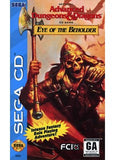 Eye of the Beholder Sega CD Game Off the Charts