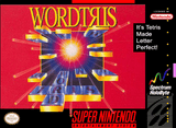Wordtris Super Nintendo Game Off the Charts